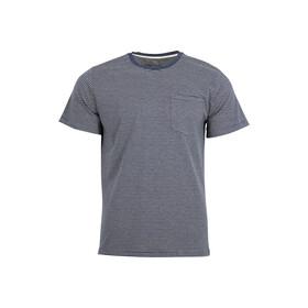 United By Blue Striped Camiseta Bolsillo Hombre, midnight